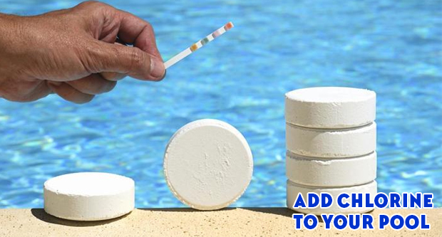 Add Chlorine to Your Pool