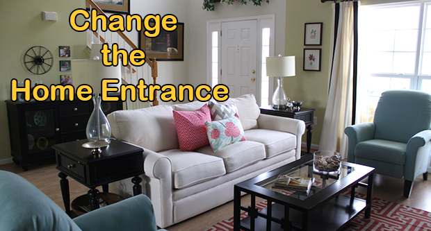 Change The Home Entrance