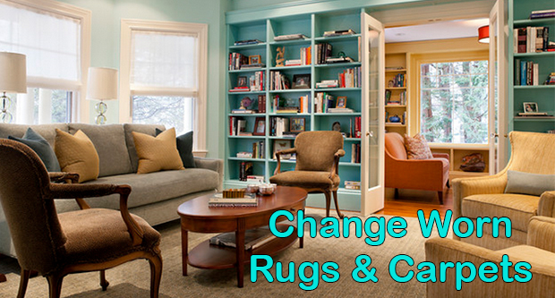 Change The Worn-Out Rugs And Carpets