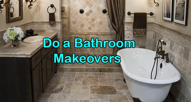 Do A Bathroom Makeover