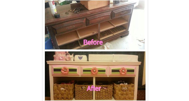 Have the Old Furniture and Accents Refurbished