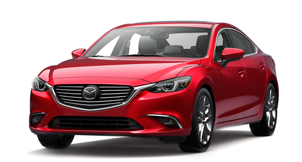 Entry Level Full Size Sedans - Mazda 6