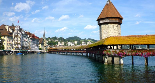 Lucerne (Switzerland) and Paris