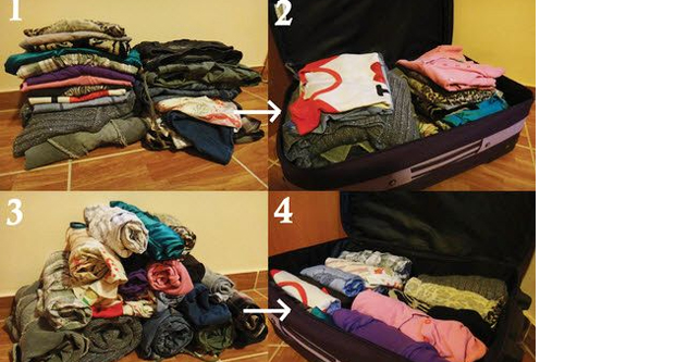 Packing Your Clothes And Other Items