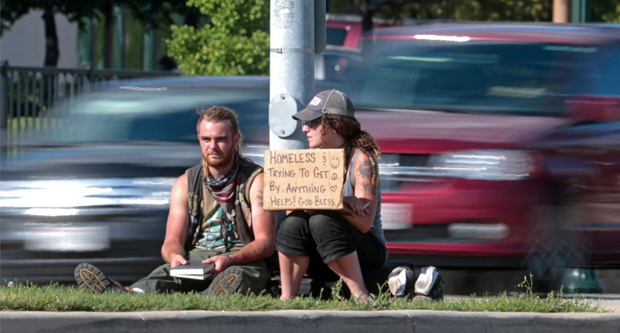 Panhandlers Are Not Always Innocent