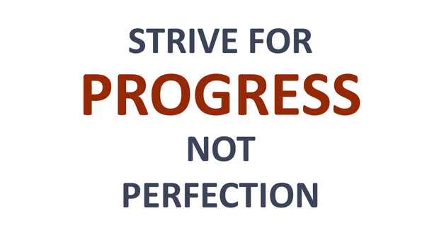 Replace the Perfectionism
