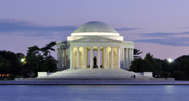 Thomas-Jefferson Memorial in Washington, D.C