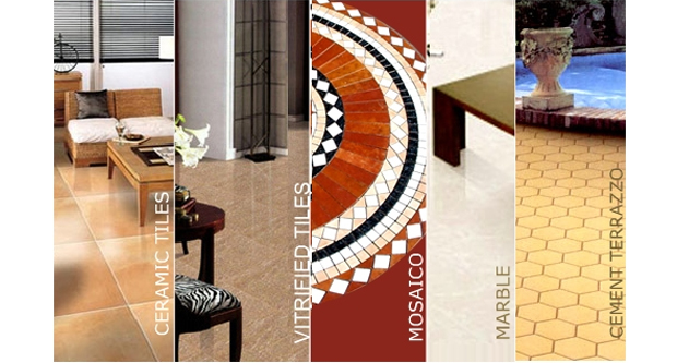 Types of Tiles Available