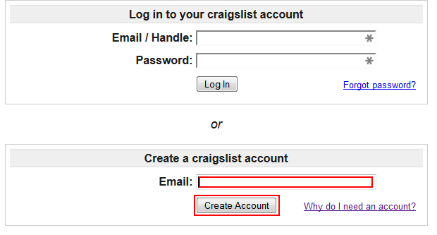 a-craigslist-account