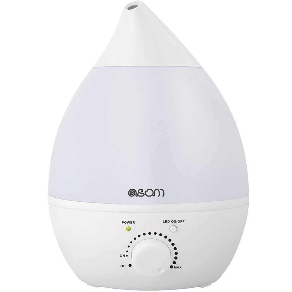 ASOM Ultrasonic Cool Mist Humidifier