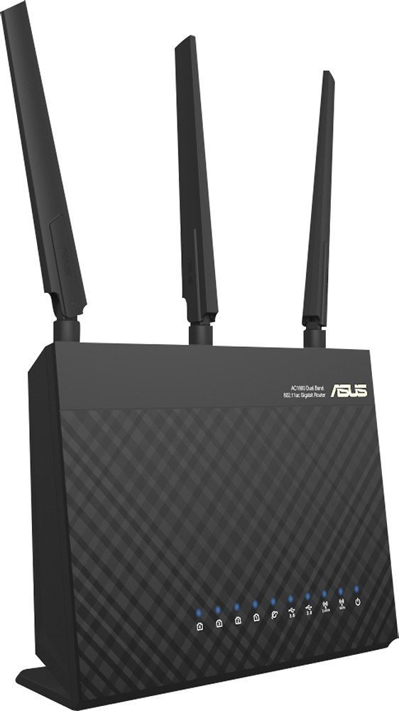 ASUS Dual-band Wireless-AC1900 Gigabit Router, Dual Bands, ASUSWRT Interface