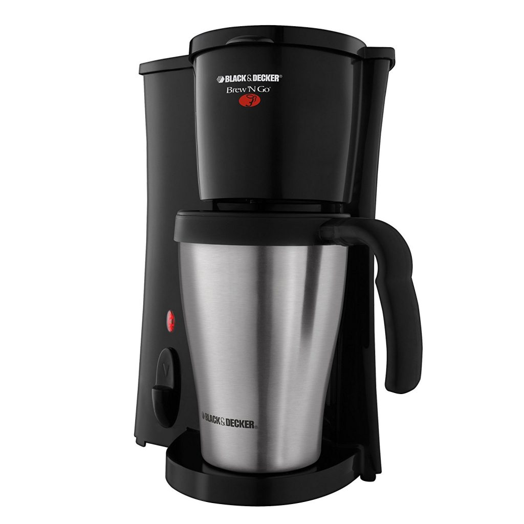 BLACK+ DECKER Brew n Go DCM18S Personal Coffee Maker