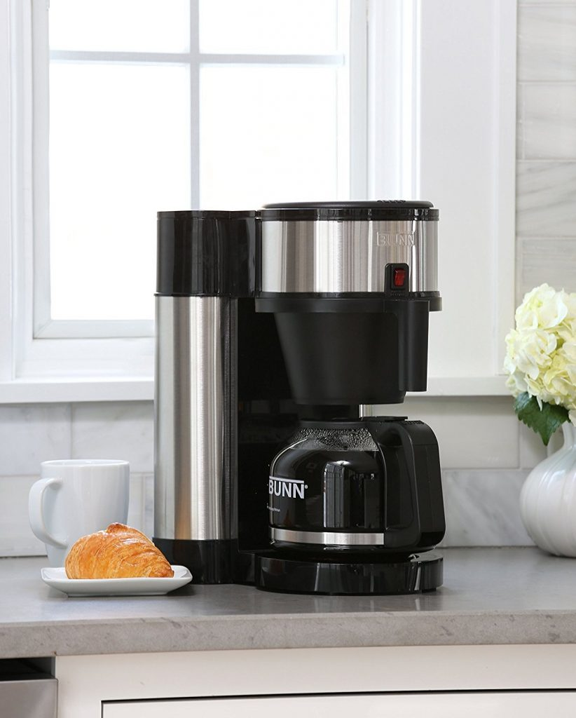BUNNS NHS 10-Cup Velocity Brew Home Coffee Brewer
