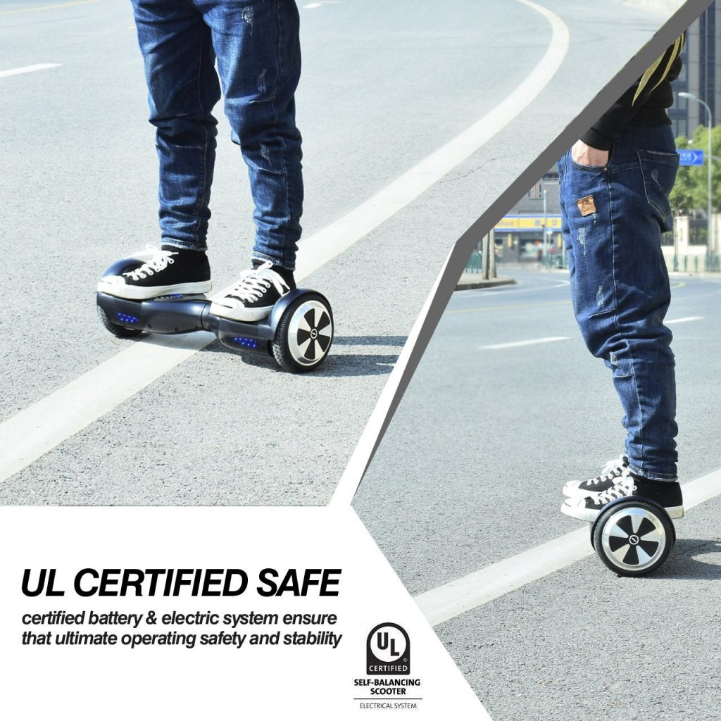Chic Eyourlife 6.5-inch Self-Balancing Hoverboard