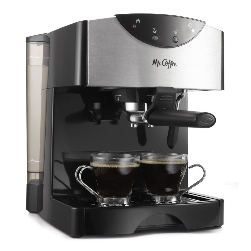 Mr. Coffee Espresso/Cappuccino System, ECMP50, Automatic Dual Shot