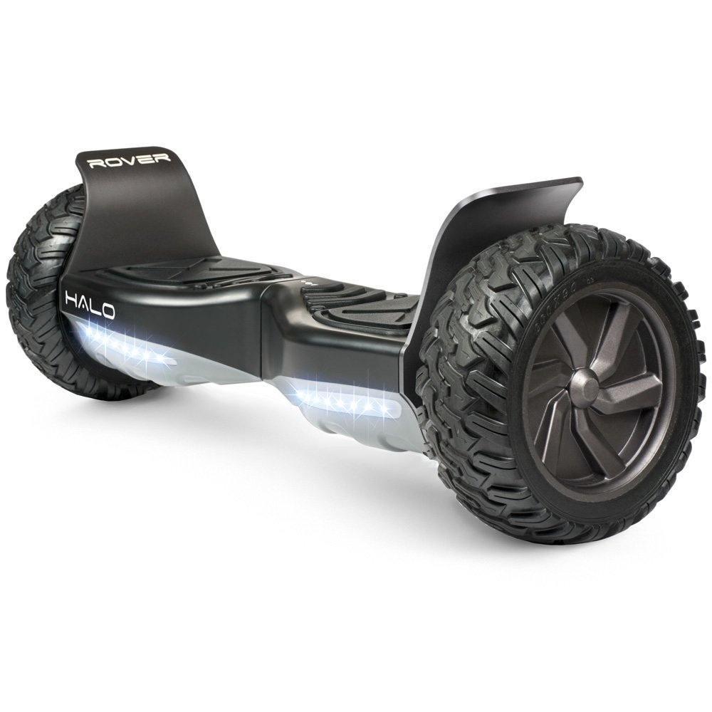 Halo Rover Self-Balancing Electric Hoverboard, Bluetooth Speakers