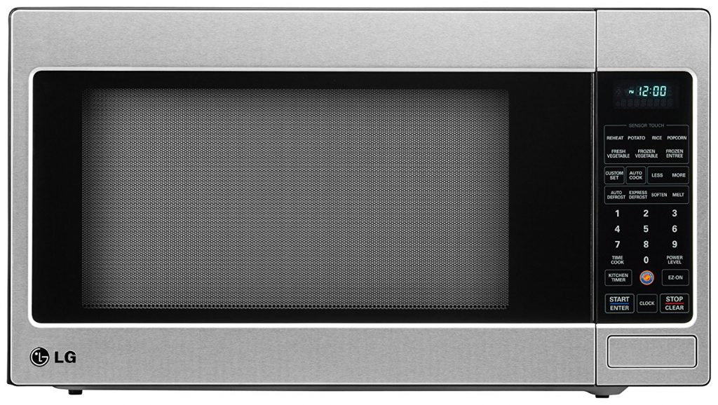 LG LCRT2010ST Counter Top Microwave Oven, Stainless Steel