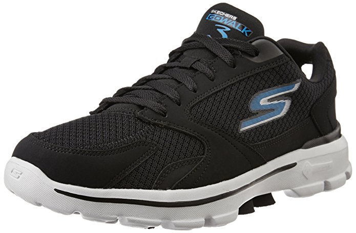 Men's Go Walk Sketchers Performance 3 Complete Lace-Up Walking Shoe