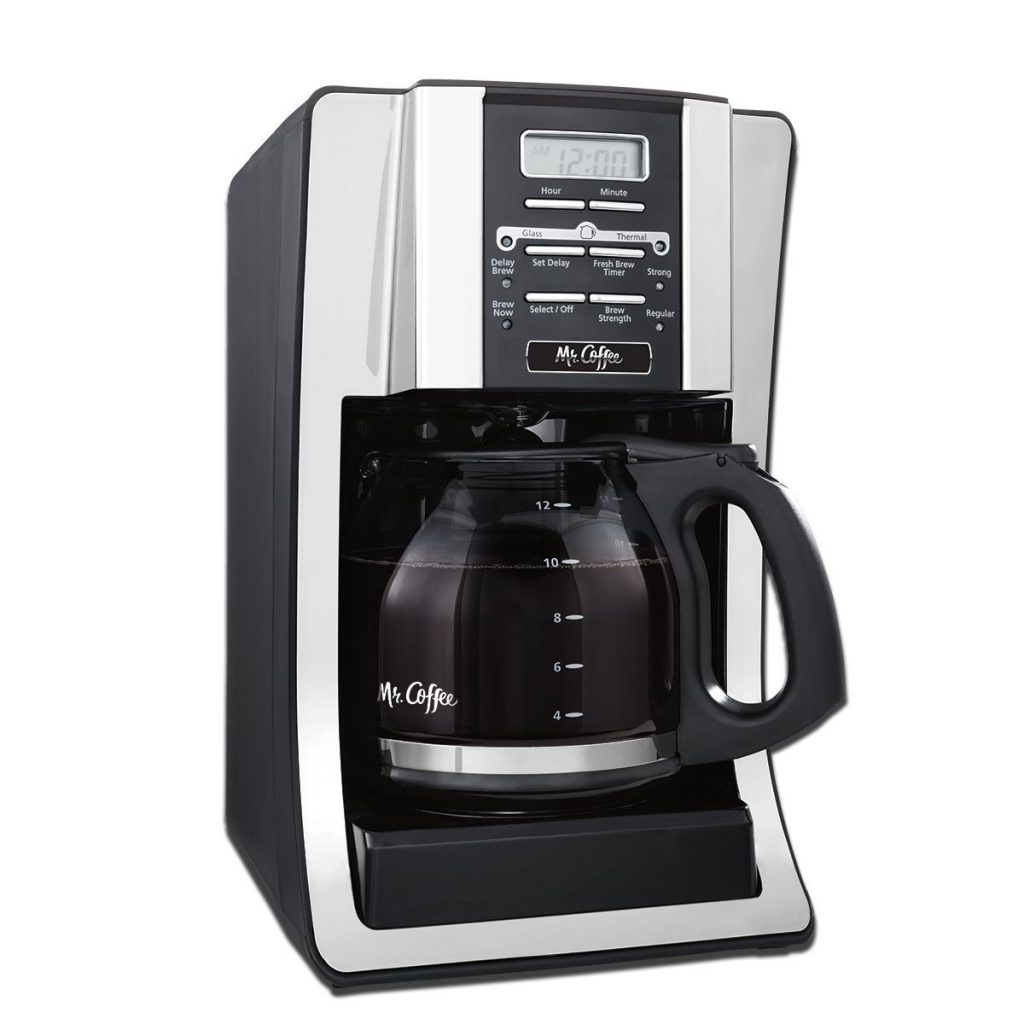 Mr. Coffee 12-Cup Programmable BVMC-SJX33GT-AM-12 Coffee Maker