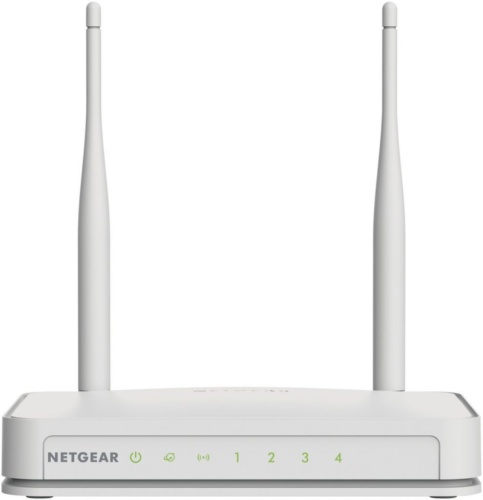 NETGEAR N300 Wireless Wi-Fi Router, 5dbi Antennas