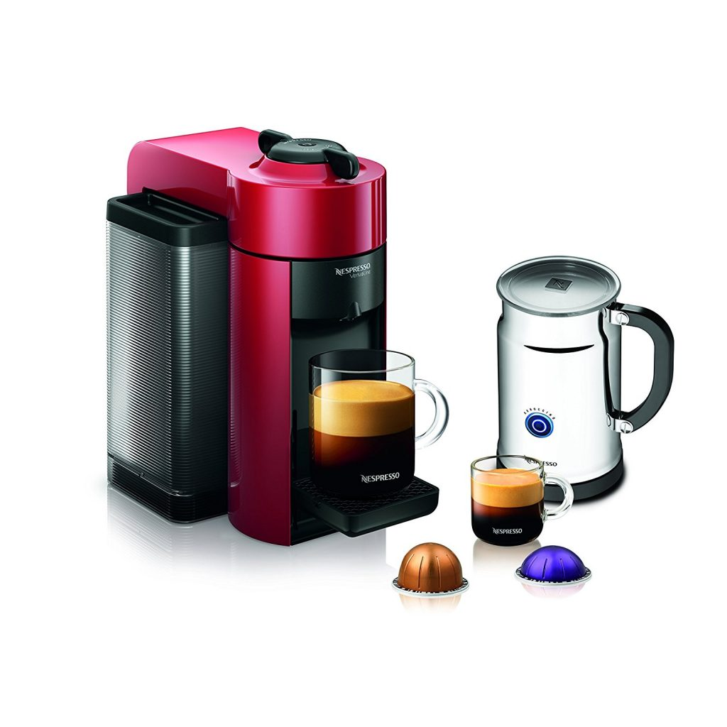 Nespresso Coffee & Espresso A+GCCI-US-RE-NE VertuoLine Evoluo