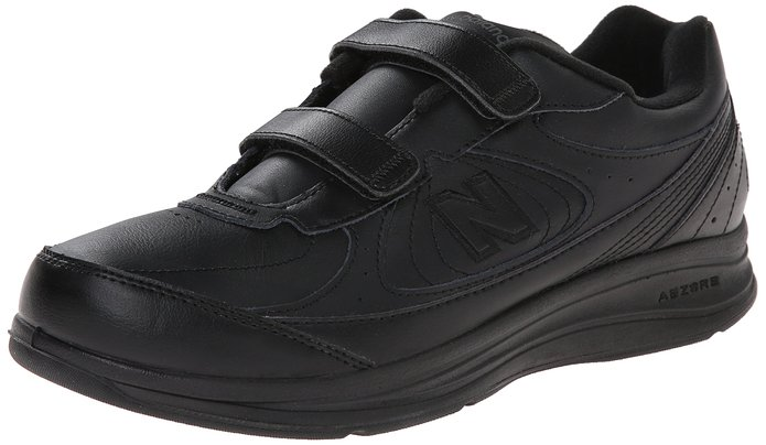 New Balance Leather Hook-and-Loop Men's Walking Shoe