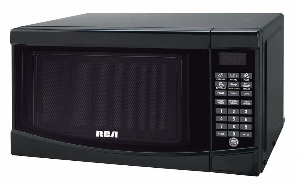 RCA RMW733 BLACK Microwave Oven