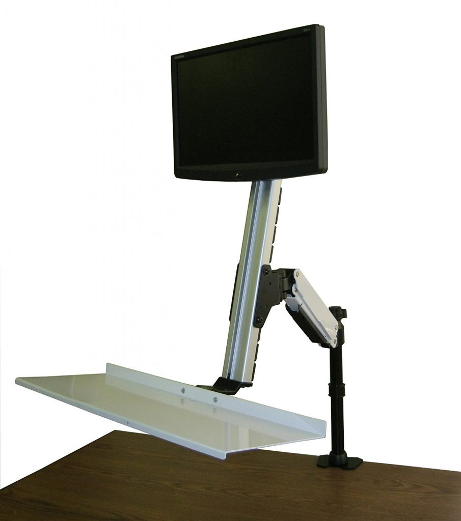 Rocelco ADR Sit/Stand Desk Computer Riser