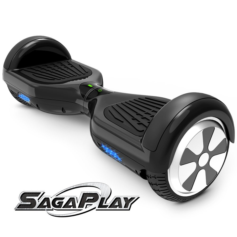 SagaPlay F1 Motorized 2 Wheel Self Hover Balance Board, All TerainTires
