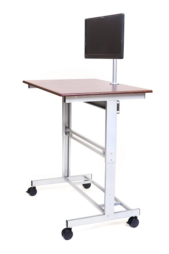 Stand Up Desk- with a Free Monitor Mount