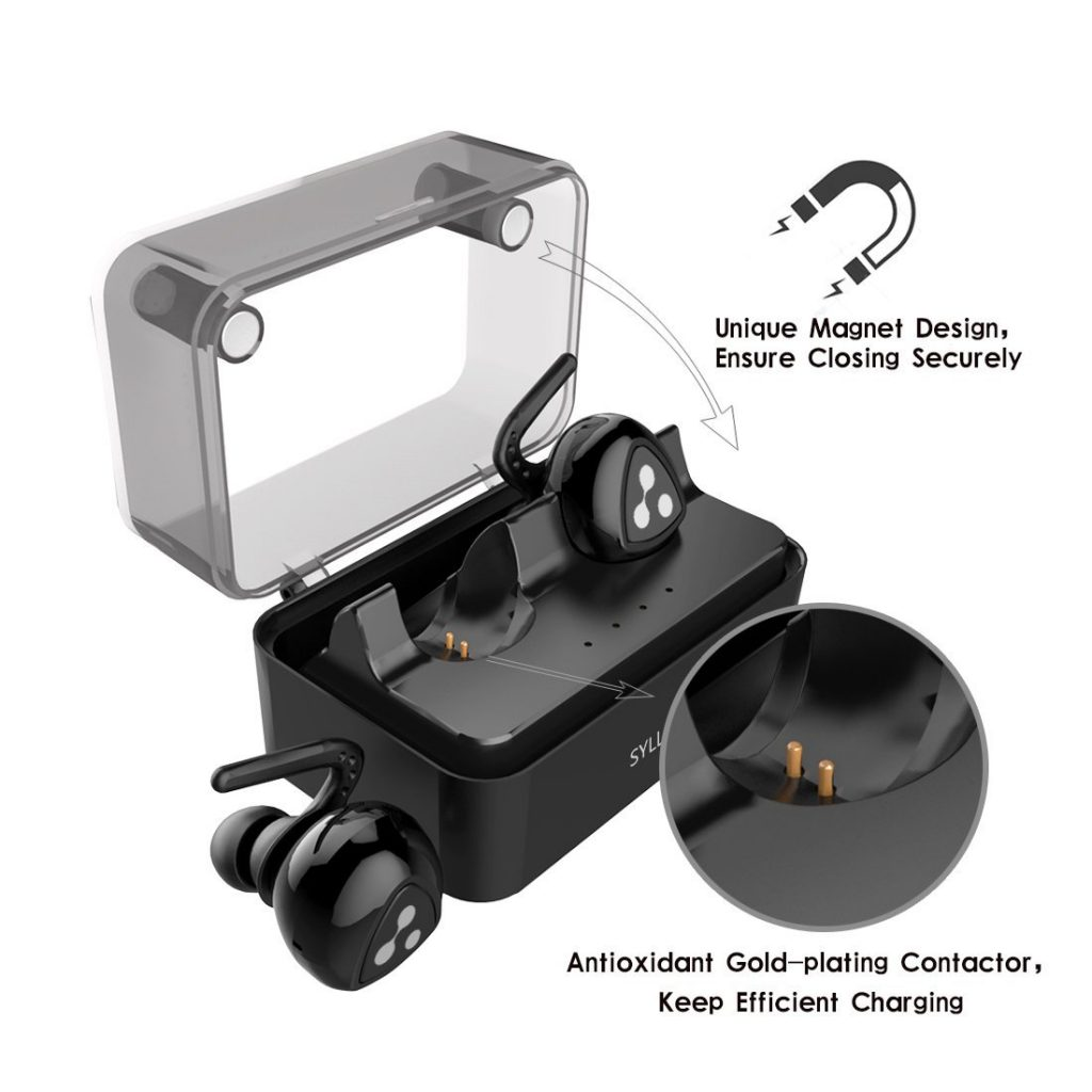 Syllable Wireless Earbuds Bluetooth Earphones