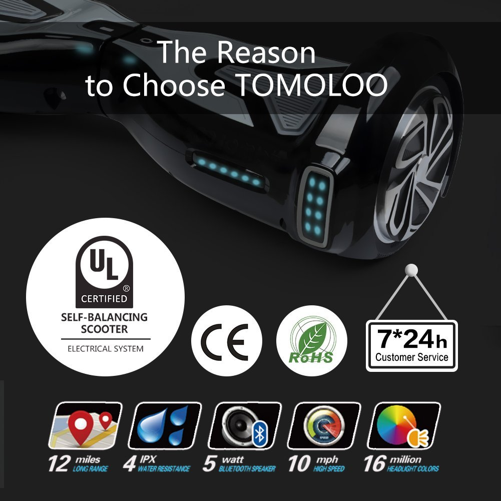 TOMOLOO Self Balancing Scooter Electric Hover Board