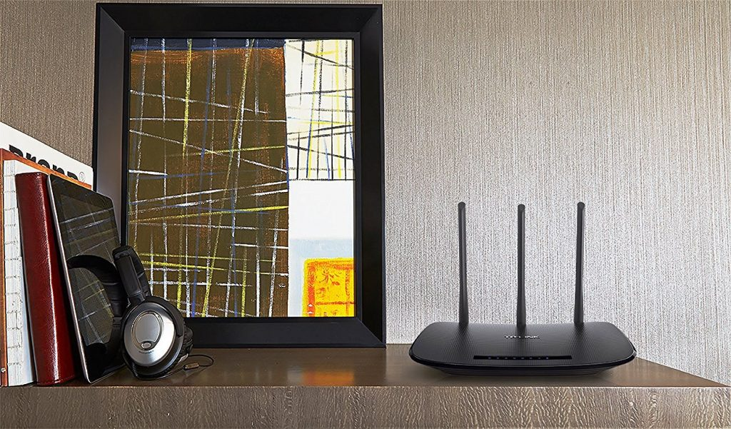 TP-Link N450 Wireless Wi-Fi Router, 450 Mbps, Parental Control