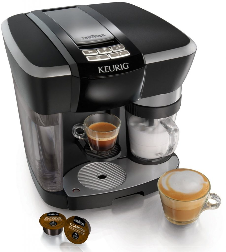 The Keurig Rivo Latte and Cappuccino System