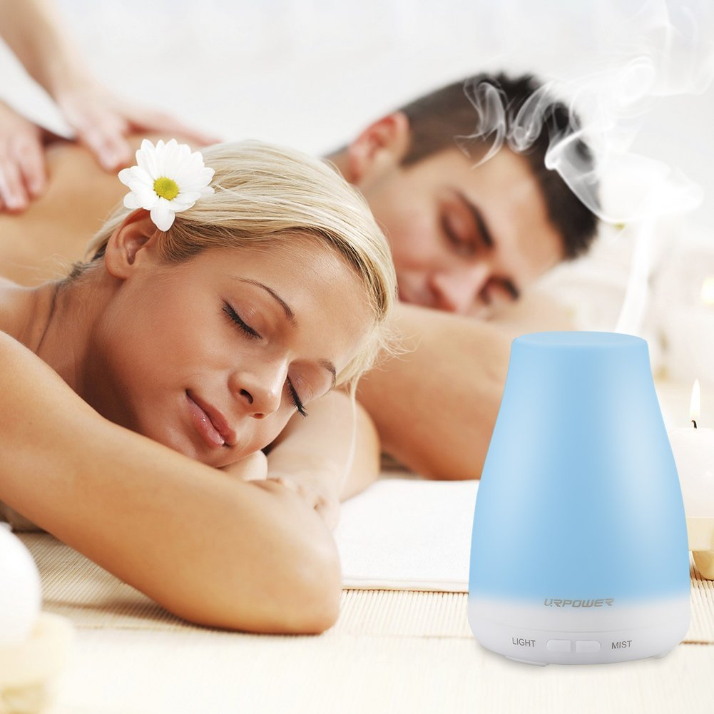 URPOWER 2nd Version Aroma Essential Oil Cool Mist Humidifier