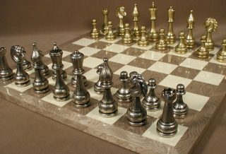 6 Best Metal Chess Sets with Boards