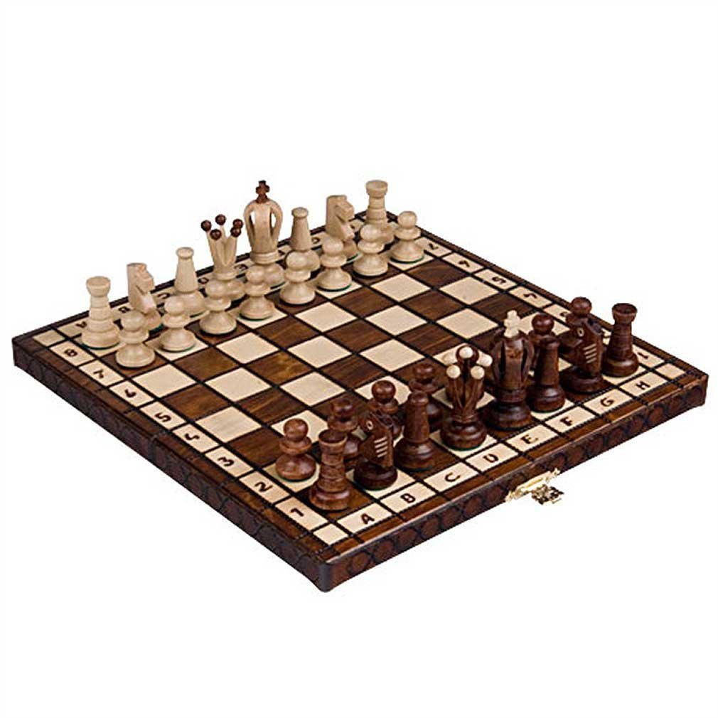 Chess Royal 30 European Wooden Handmade International Set